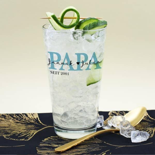 Trinkglas für den besten Papa