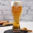 Weizenglas Bierchen mit Ihrem Wunschnamen