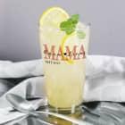 Trinkglas - Mama seit - mit Ihrem Wunschtext und Jahreszahl