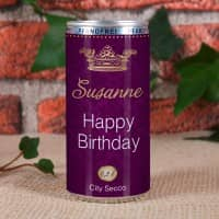 Happy Birthday - City Secco in der Dose mit Wunschame