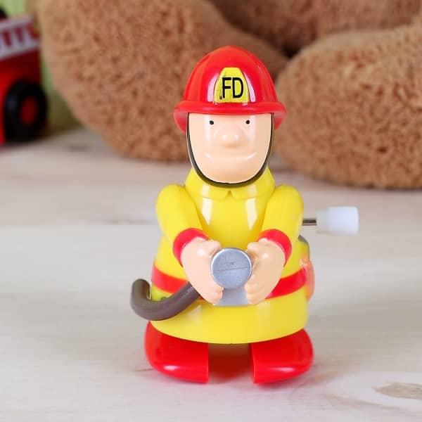 Aufzieh-Feuerwehrmann
