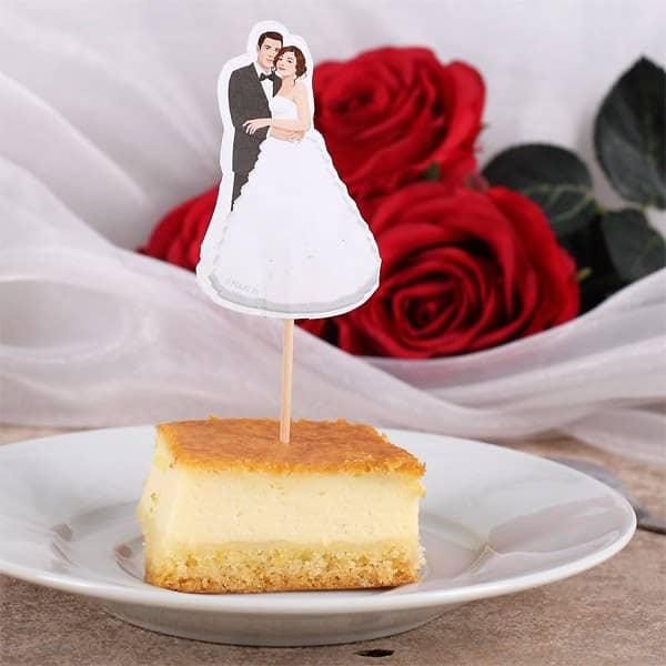 Hochzeits-Picker - Brautpaar