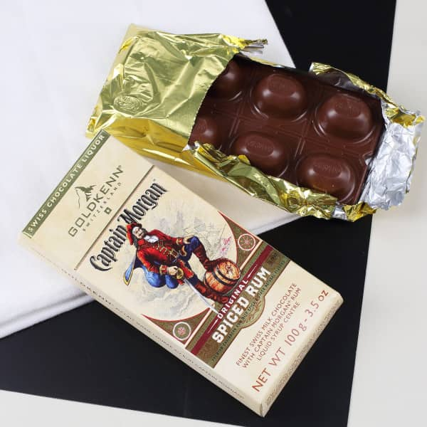 Captain Morgan Rum Milk Chokolate
