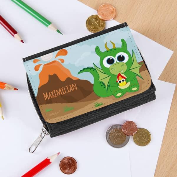 Drachengeldbörse für Kinder