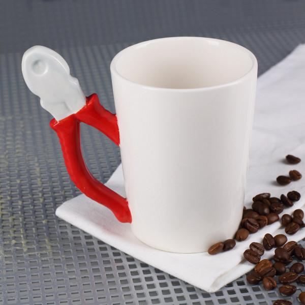 Keramikbecher mit Werkzeuggriff - Zange