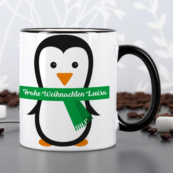 Pinguin - Tasse mit Wunschtext