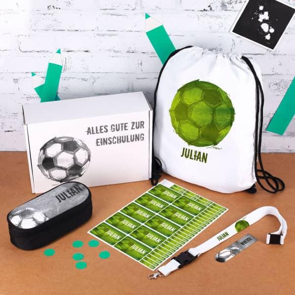 Einschulungs Starter Set für kleine Fußballer
