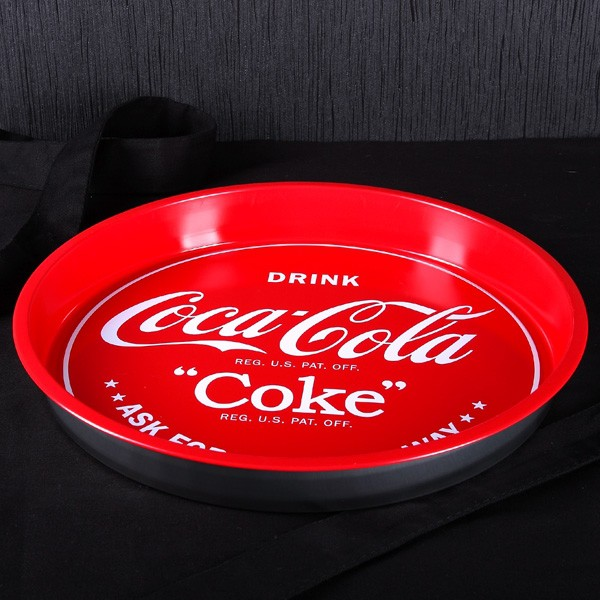 Coca-Cola® Classic Servier-Tablett