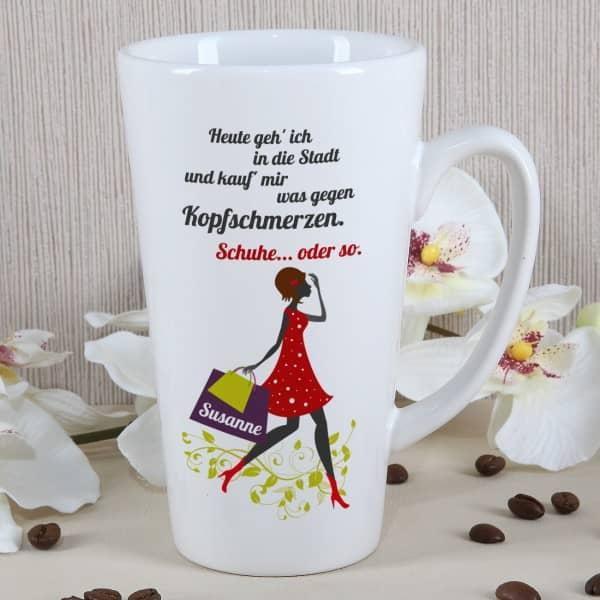 Tasse für Frauen mit Namen