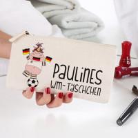 Beautycase mit Knuddelhorn zur WM oder EM