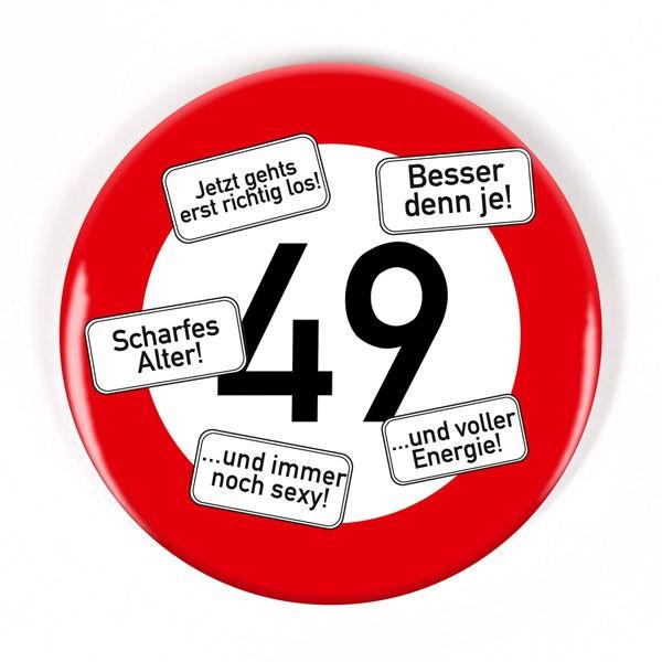 Button zum 49. Geburtstag