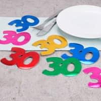 Jumbo-Konfetti zum 30.Geburtstag