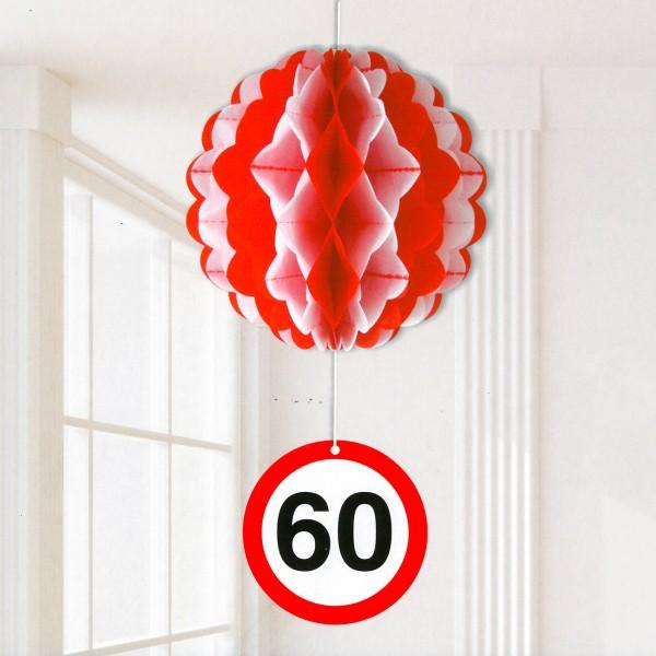 Partydekoration Ballon zum 60. Geburtstag