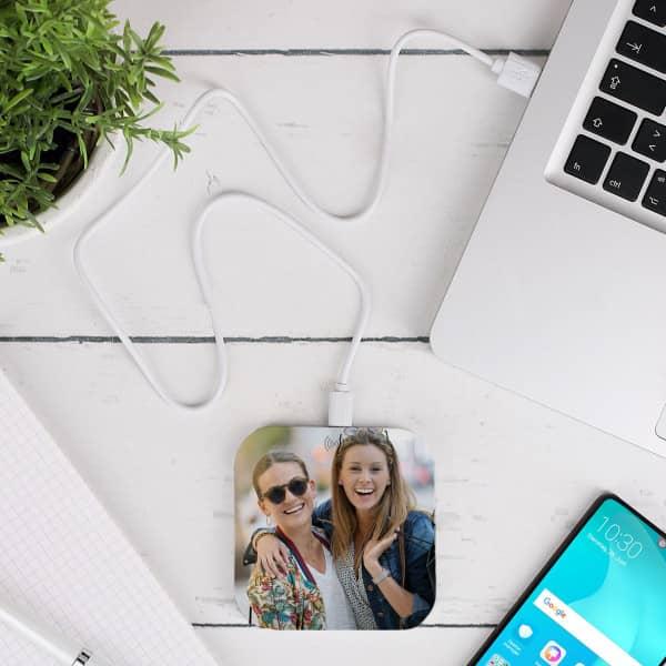 Wireless Charger mit Ihrem Lieblingsfoto