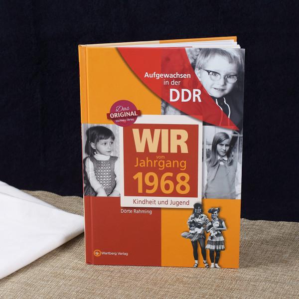 Jahrgangsbuch 1968 Kindheit und Jugend in der DDR