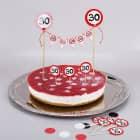 Torten-Deko Set zum 30. Geburtstag