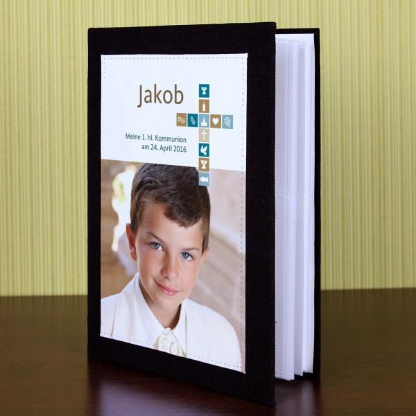 Fotoalbum für Jungen für Kommunion, Konfirmation oder Taufe