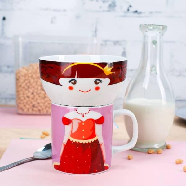 Princess Poppy Porzellan Tasse Schüssel