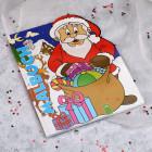 Kinder-Malbuch mit Weihnachtsmotiven