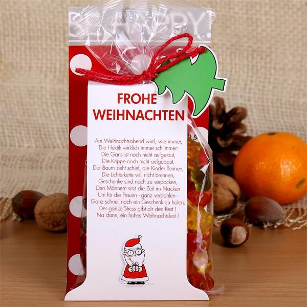 Gummibärchen Be Happy! Weihnachtsstress