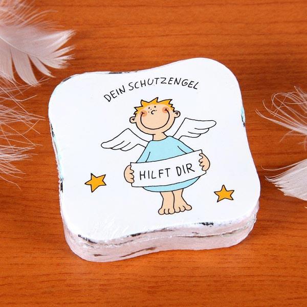 Handtuch mit einem Engel