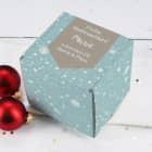 Kleine Geschenkbox mit Schneeflocken