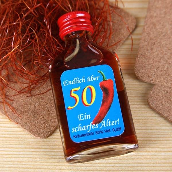 Kräuterlikör - 50 ein scharfes Alter !