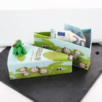 Geschenkschachtel - Kröten für Dich