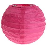 2er - Set Deko Laternen 10 cm in Pink