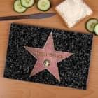 Das Glasbrettchen für Stars mit Wunschname Road of Fame