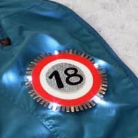 LED - Blink-Button zum 18.Geburtstag