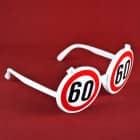 Lustige Sonnenbrille zum 60. Geburtstag