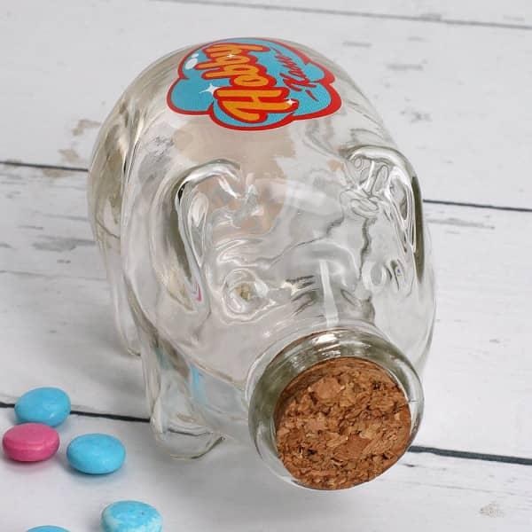 Flaschenpost Sparschwein - Hobby