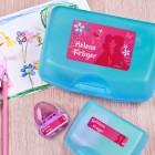 Prinzessinnen - Aufkleberset für die Schule, mit Name