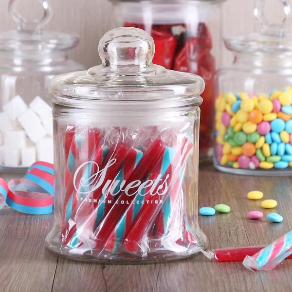 Glasdose für Süßigkeiten