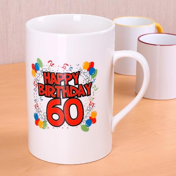 """XXL-Becher """"Happy Birthday 60"""""""