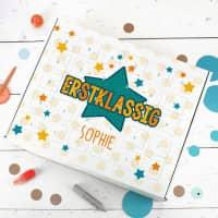 Erstklassig - Schulstartkalender mit Ihrem Wunschnamen