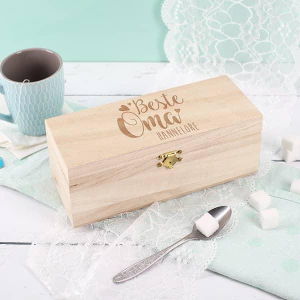 Kleine Teebox für die beste Oma
