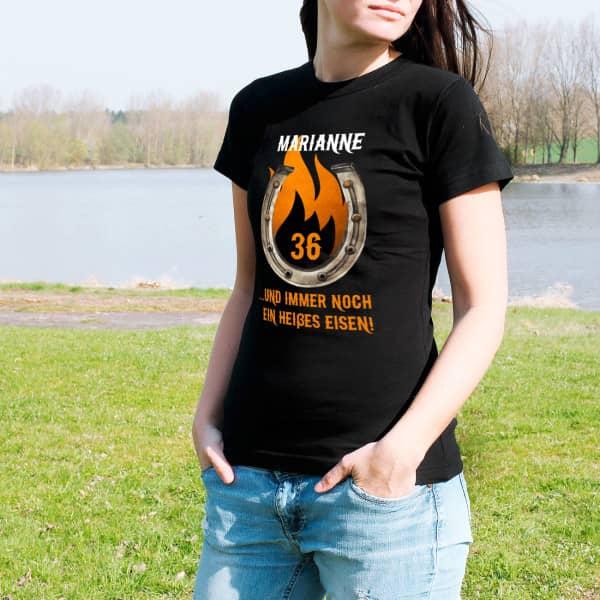 Damenshirt Heißes Eisen