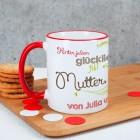 Tasse für Mama mit Spruch und Namen