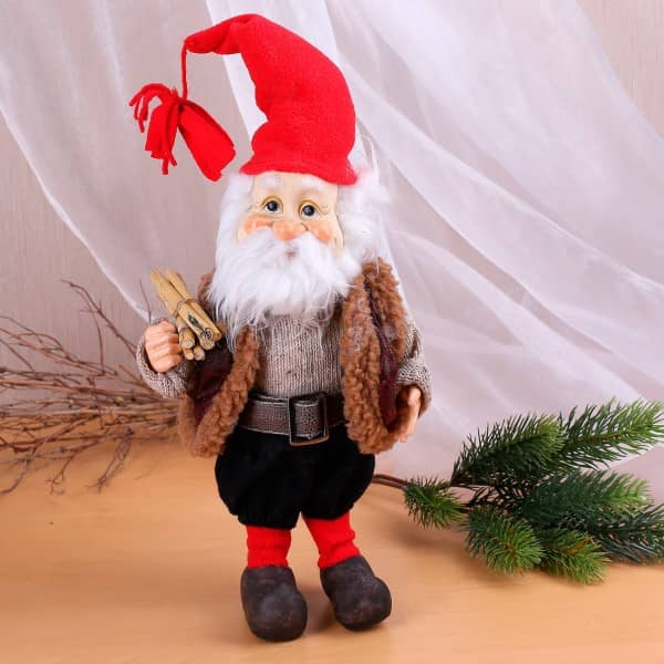 Weihnachtsmann Figur, 37 cm