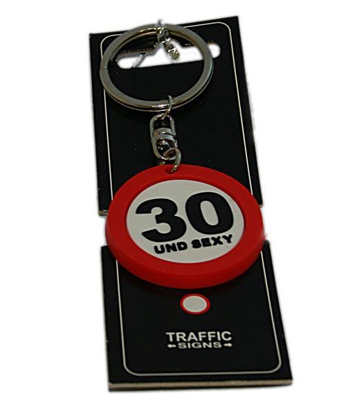 Schlüsselanhänger 30 und sexy Geschenk zum 30. Geburtstag