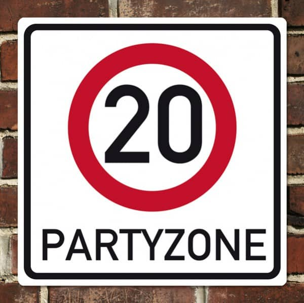 Banner zum 20. Geburtstag