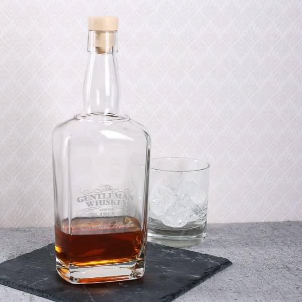 Whiskeykaraffe mit Gravur