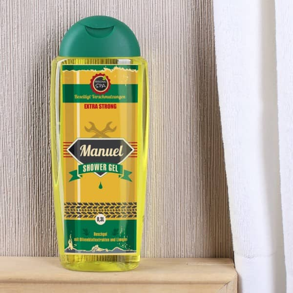 Old Style Duschgel mit Namensaufdruck für Männer