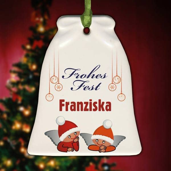 Weihnachtsschmuck mit Namen