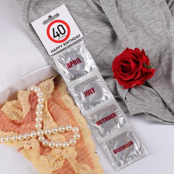 Kondome, 40. Geburtstag