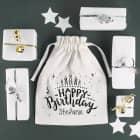 Geschenksäckchen zum Geburtstag mit Name