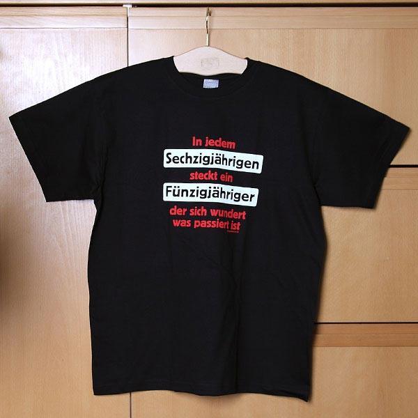 T-Shirt *Sechzigjähriger*