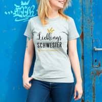 Lieblings... Damen Shirt mit Wunschtext